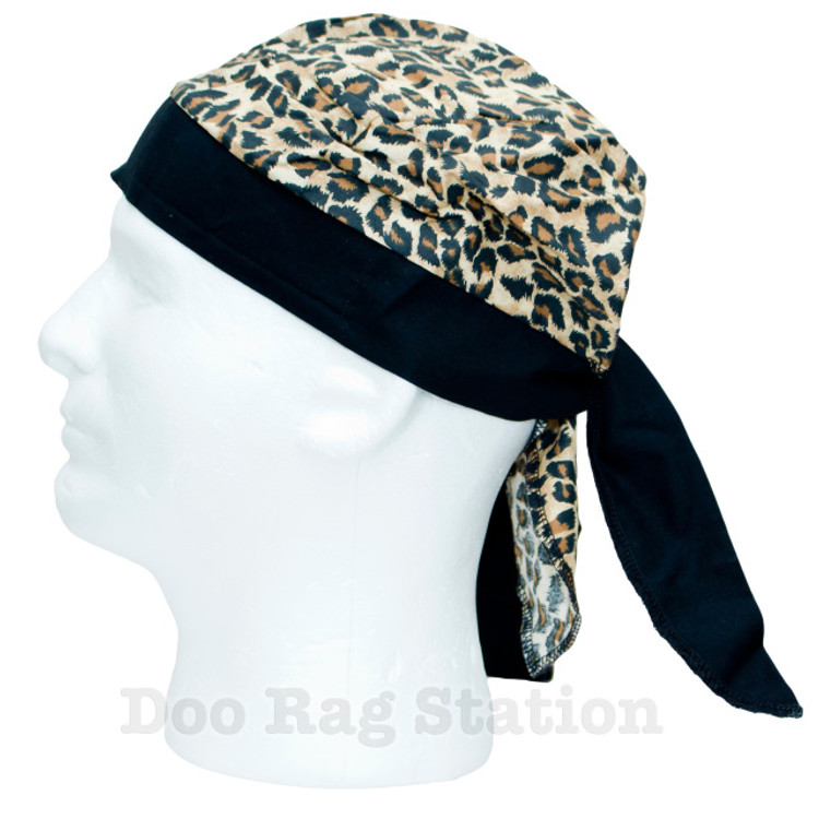 Leopard With Large Spots By Doo Rag Station
