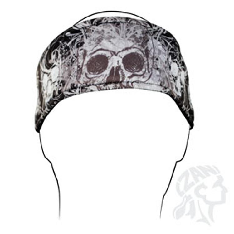 Headband, DaVinci Skull