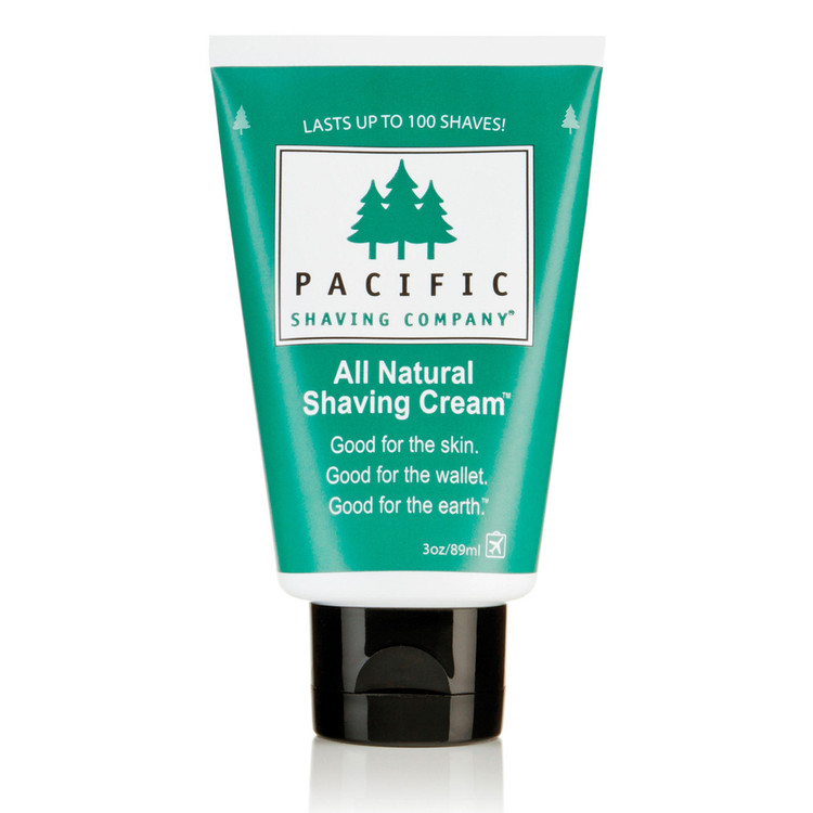 All Natural Shaving Cream - Pacific Shaving Company