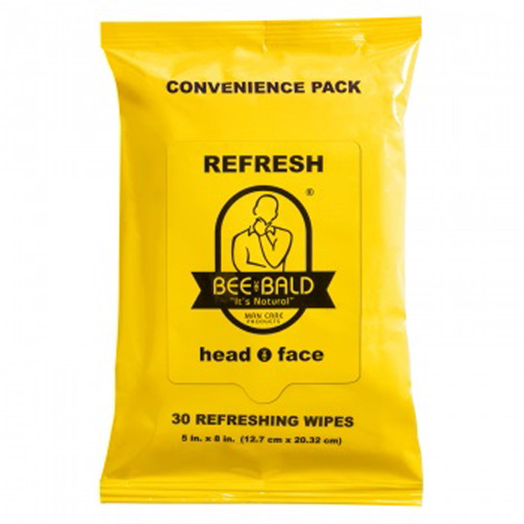 BEE BALD REFRESH Convenience Pack - 30 CT