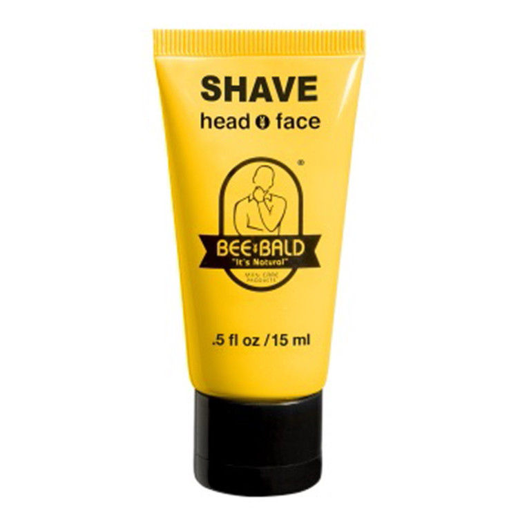 BEE BALD SHAVE TRAVEL SIZE - .5 oz. Tube