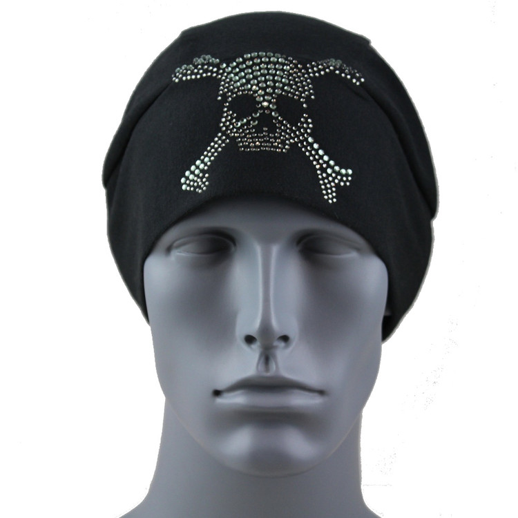 Black Diamond Rhinestone Skull & Crossbones Stretch TotalWrap