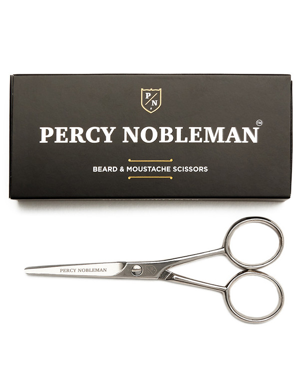 Beard & Moustache Scissors By Percy Nobleman