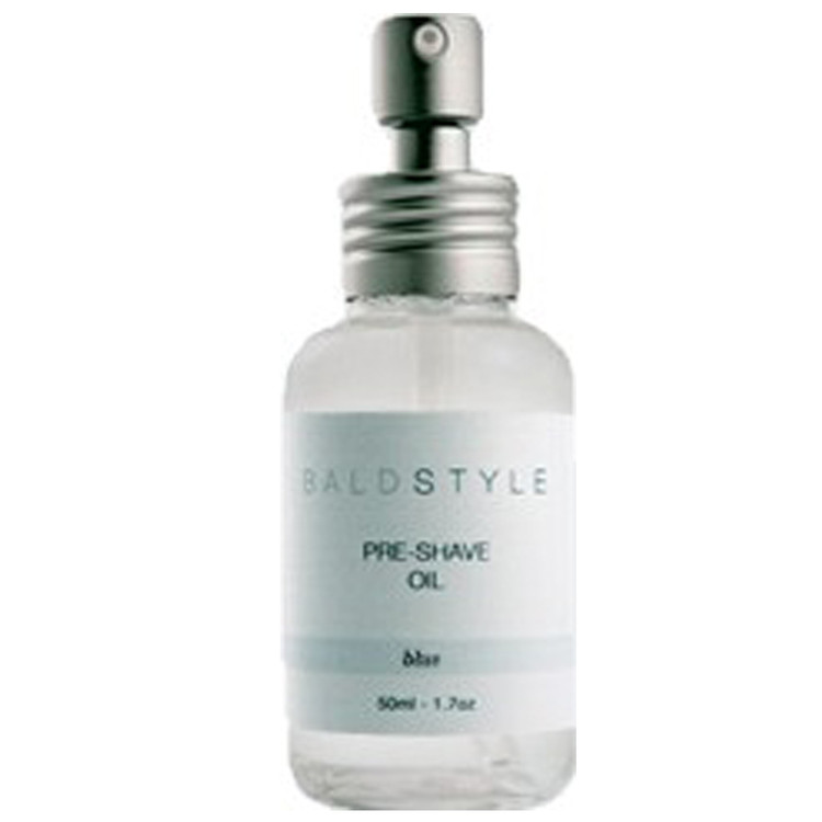 BaldStyle - Pre-Shave Oil - Blue - Scented With Natural Oil - 1.7 oz