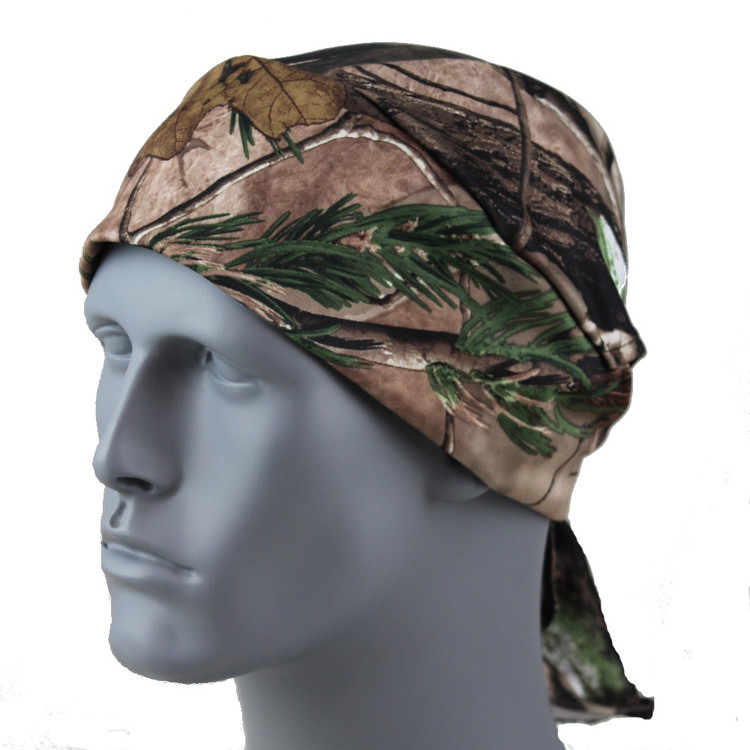 Doo Rag - Forest Scene Stretch TotalWrap By DesignWraps