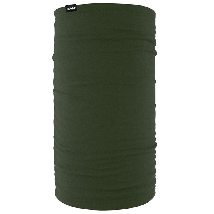Fleece Lined Motley Tube, Olive, 100% Polyester