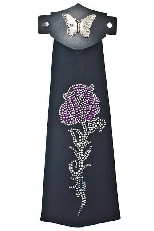 Spandex HairTube - Purple Rose