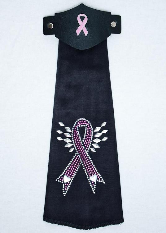 Spandex HairTube - Pink Ribbon