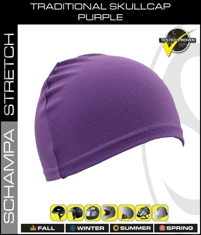 Traditional Stretch Skullcap - Purple