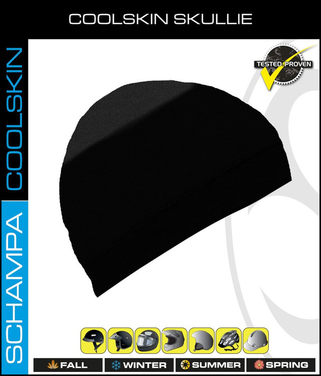 Coolskin Skullie - Black