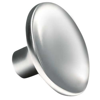 Curved Round Knob Polished Chrome