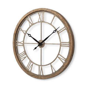 "63079 - Mething I 31.5"" Oversize Farmhouse Wall Clock"