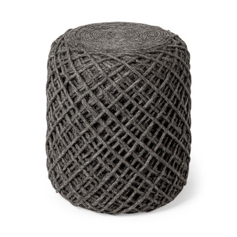68731 -Allium Pouf (Dark Gray)