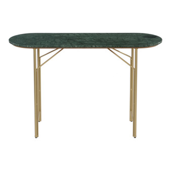 VERDE MARBLE CONSOLE TABLE