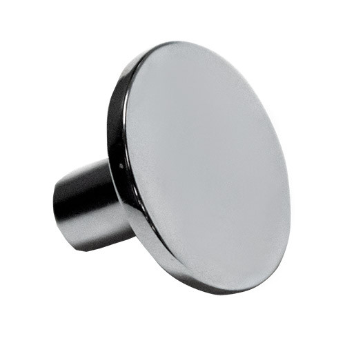 Contempo Round Knob Polished Chrome