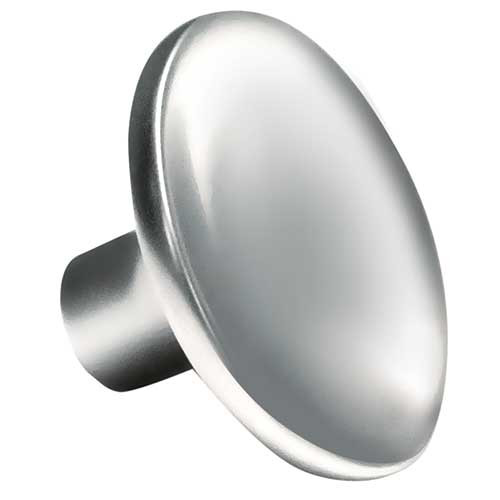 Curved Round Knob Polished Chrome