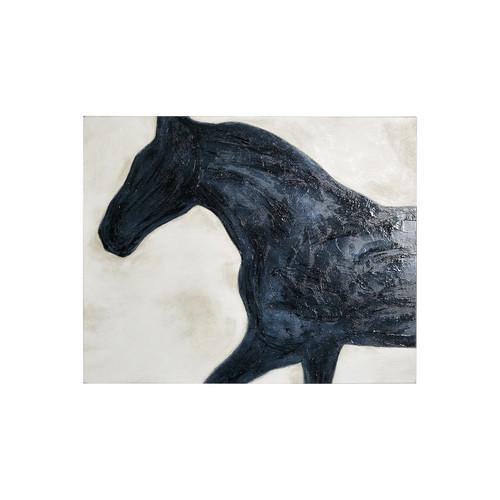 101575-S -Equestrian Beauties - Halt (28 x 36)