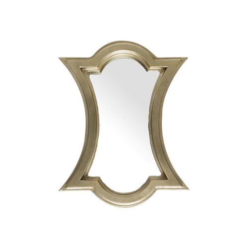 37254 - Avalon 12x15 Gold Wood Frame Mirror
