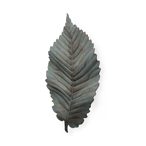 "44250 - Brattea 15.8""H Large Metal Leaf Wall Art"