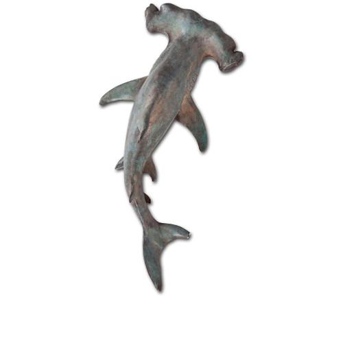 """57420 - Acus 18""""H Small Hammerhead Shark Wall Decor"""