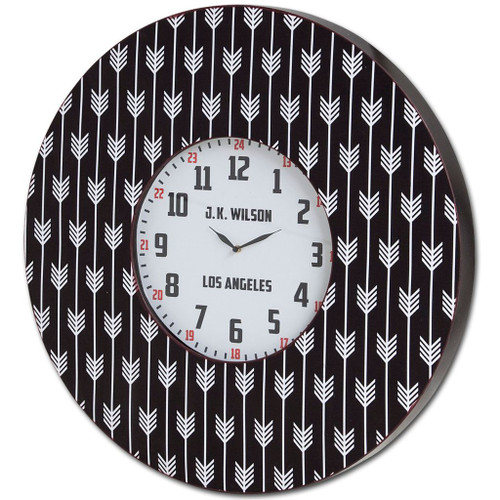 "63085 - Calabash II 33"" Oversize Contemporary Wall Clock"