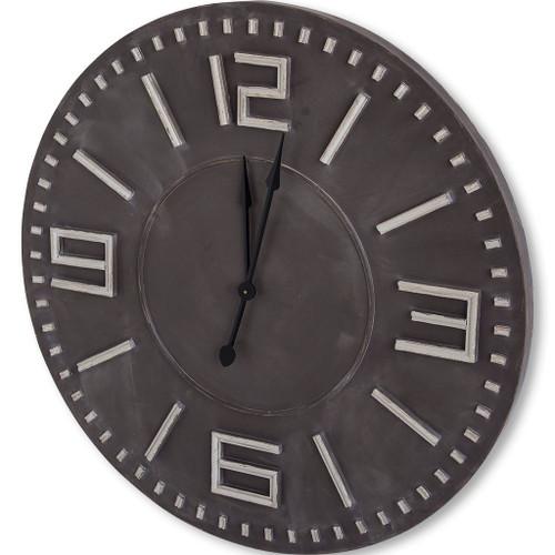 "63092 - Devonshire II 42"" Round Oversize Industrial Wall Clock"