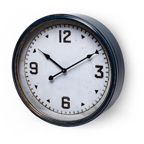 "63104 - Hereward 16"" Round Large Modern Wall Clock"