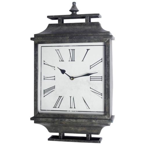 63128 - Brinton Rectangular Modern Wall Clock