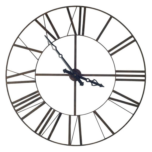 """63172 - Pender 50"""" Round Giant Oversized Industrial Wall Clock"""