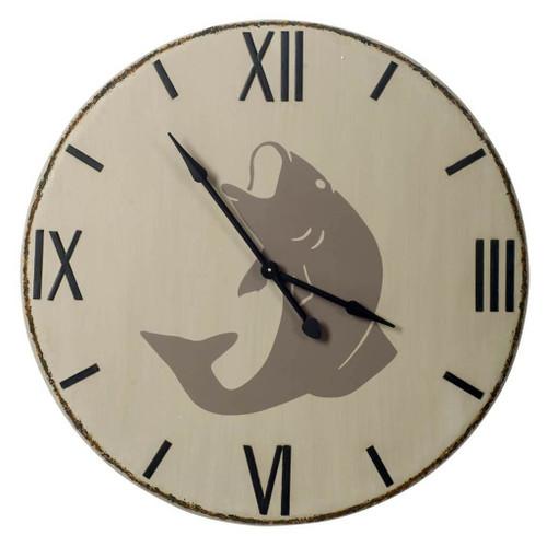 "63174 - Langara 38.5"" Round Oversize Lakeside Wall Clock"
