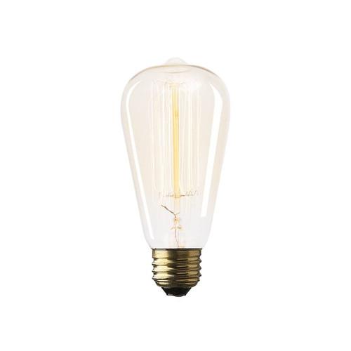 "65328 -Filament Teardrop E26 40W 5.5""H Bulb"