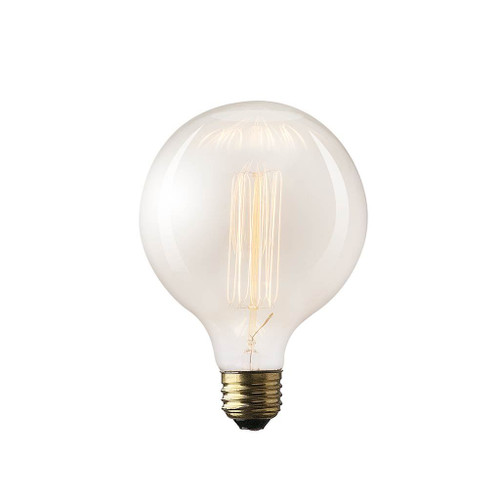 """65329 -Filament Globe E26 40W 5.5""""H Bulb"""