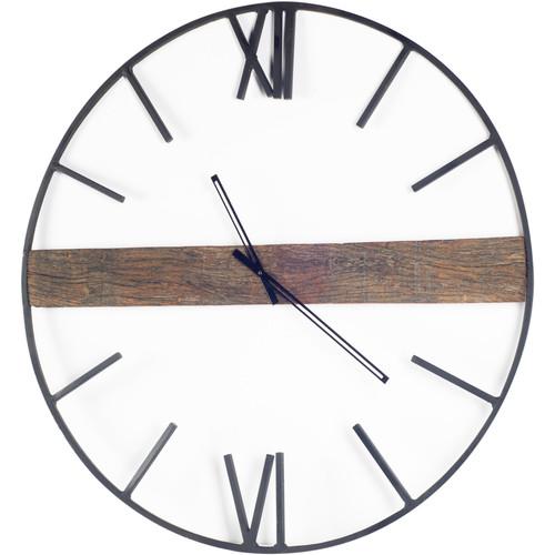 "67523 - Roman 36"" Round Oversize Industrial Wall Clock"