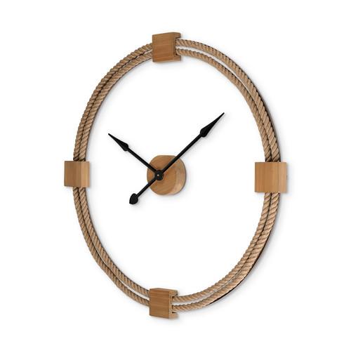 """68527 - Worthing 36"""" Round Oversize Coastal Wall Clock"""