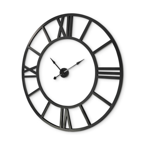 """68529 - Stoke 54"""" Round Giant Oversized Industrial Wall Clock"""