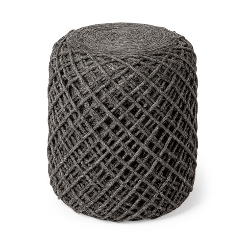 68731 -Allium Pouf (Dark Gray)