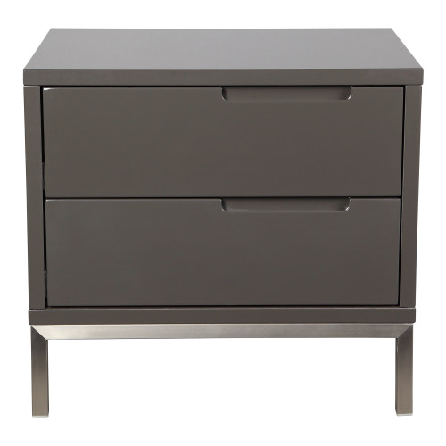 NAPLES SIDE TABLE GREY