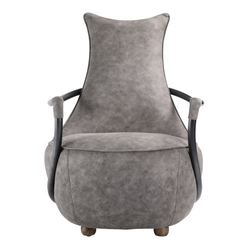 CARLISLE CLUB CHAIR GREY VELVET