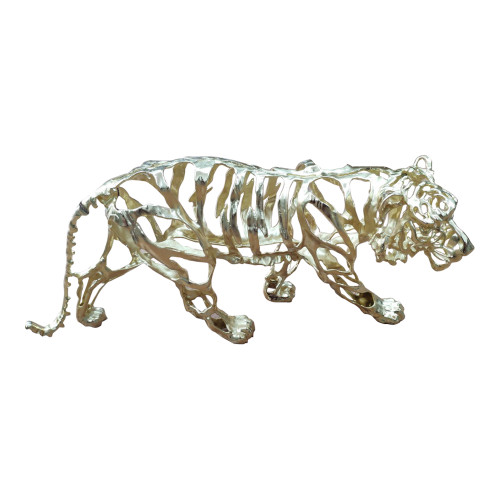 TIGER STRIPES STATUE