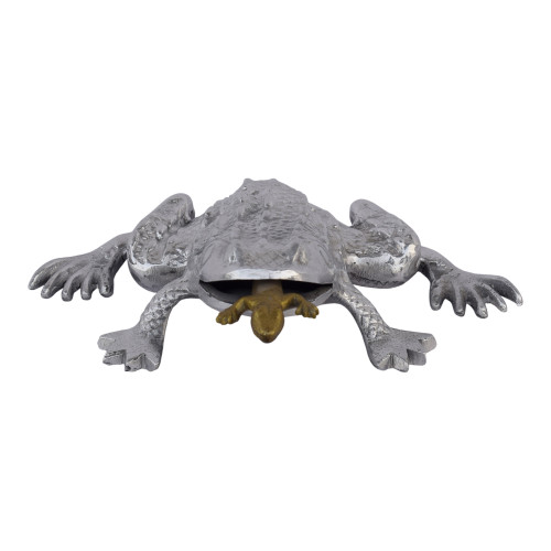 HUNGRY FROG SCULPTURE