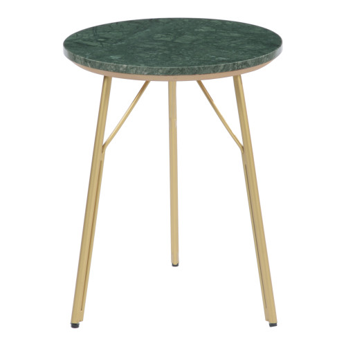 VERDE MARBLE SIDE TABLE