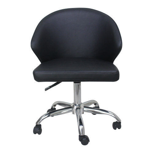 ALBUS SWIVEL OFFICE CHAIR BLACK