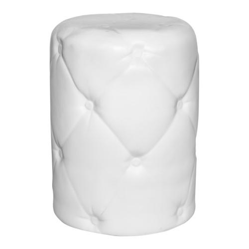 IRONY OUTDOOR STOOL WHITE