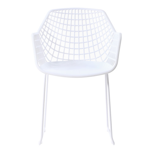 HONOLULU CHAIR WHITE-SET OF TWO