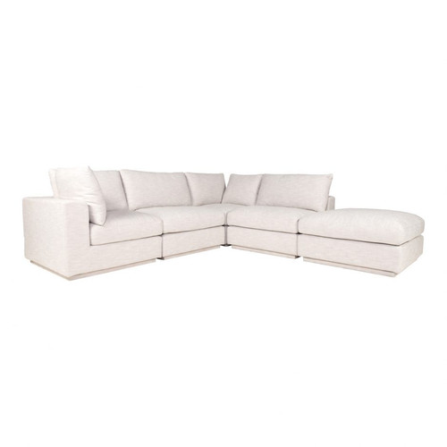 JUSTIN DREAM MODULAR SECTIONAL TAUPE