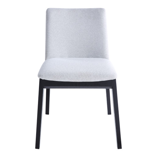 DECO ASH DINING CHAIR LIGHT GREY-SET OF TWO