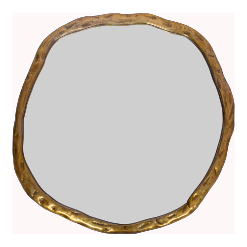 FOUNDRY MIRROR LARGE GOLD