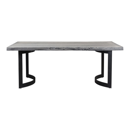 BENT DINING TABLE EXTRA SMALL WEATHERED GREY