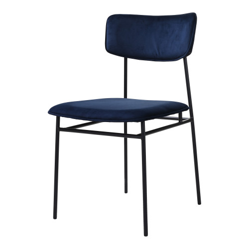 SAILOR DINING CHAIR BLUE-SET OF TWO