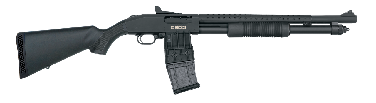 590M Mag-Fed Pump-Action with Accu-Choke